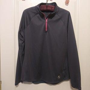 Gray Workout Jacket